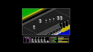 Highway Encounter (1985) 128k AY music version Walkthrough + Review, ZX Spectrum