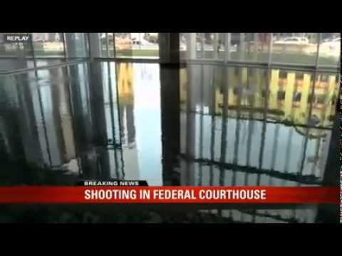 Shooting Salt Lake City Courthouse US Marshall Shoots Gang Member
