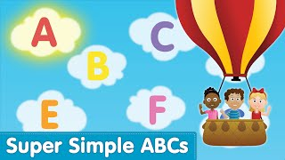 The Super Simple Alphabet Song Uppercase Super Simple ABCs