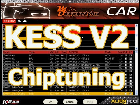 KESS V2 chiptuning interface programmer software review KESS2
