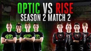 Black Ops 3 CWL - Season 2 Match 2 - OpTic vs. Rise