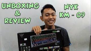 review keyboard nyk km 09   keyboard mechanincal murah