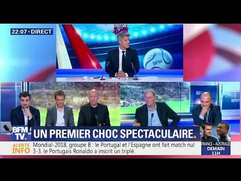 La Dream Team admirative de la performance de Cristiano Ronaldo contre l'Espagne thumbnail