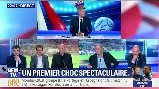 La Dream Team admirative de la performance de Cristiano Ronaldo contre l'Espagne