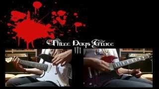 Three Days Grace-Over and Over-Cover by Avenger Gates HD 1080p!!