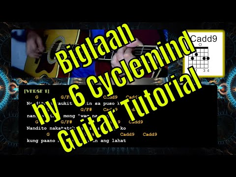 Biglaan by 6 Cyclemind | Guitar Chords | Tutorial