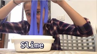 COME FARE LO SLIME SOLO CON 3 INGREDIENTI! || NICOLE SPACE