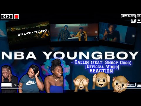The Goat? 👀🐐 | REACTION | NBA YoungBoy – Callin (feat. Snoop Dogg) [Official Video]