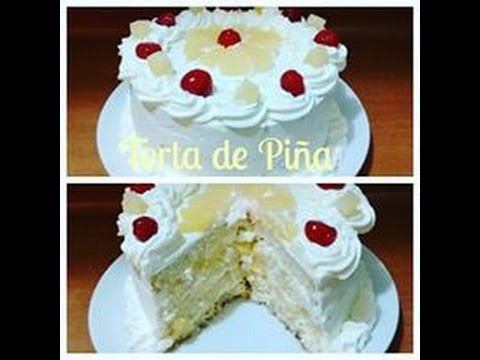 Receta: Torta De Piña Y Crema Casera - Silvana Cocina Y ...