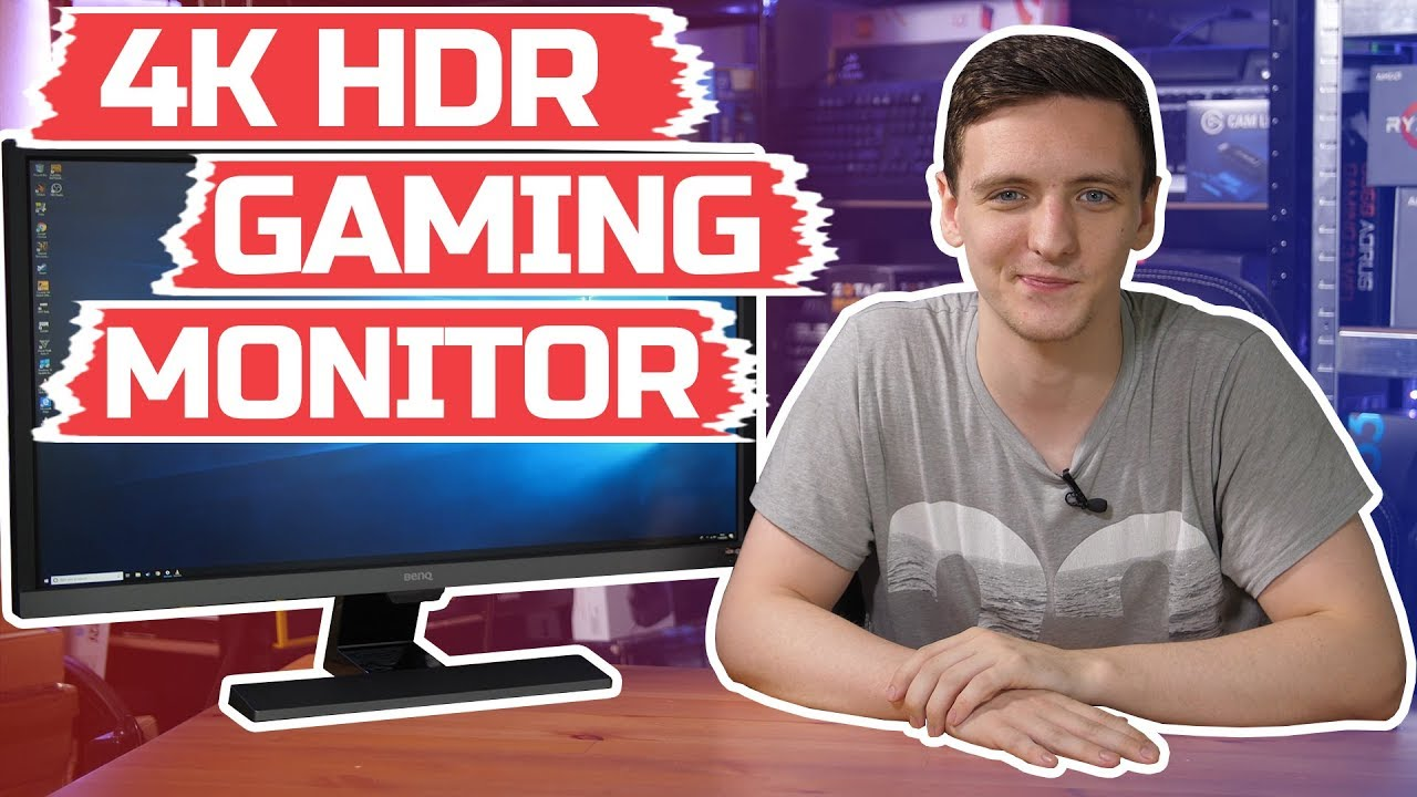 Cheap 4K HDR GAMING Monitor? | BenQ EL2870U Review