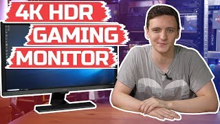 """Want one? amazon: http://a-fwd.to/43shkft 4k. hdr. 1ms gtg. freesync. and, cheap. dayum! this is the benq el2870u - a killer 28"""" monitor with (at time of..."""