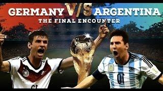 Germany vs Argentina 2014 - FIFA 14