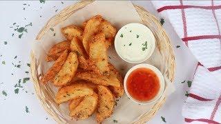 রেস্টুরেন্ট স্টাইল পটেটো ওয়েজেস | Crispy Potato Wedges | Fried Potato Wedges | Potato Wedges Bangla