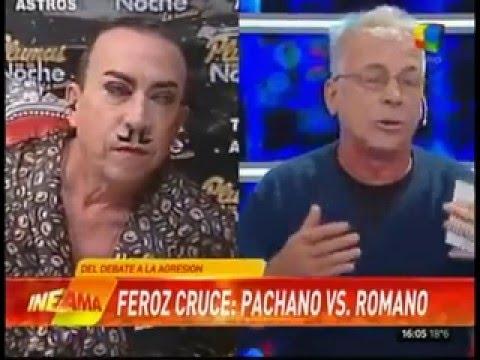 Ejes - Feroz cruce: Aníbal Pachano vs. Gerardo Romano