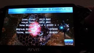 PS Vita Games - Super Stardust Delta Mini Game Review
