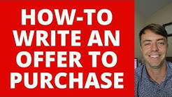 How-To Fill Out An Offer-To-Purchase Real-Estate