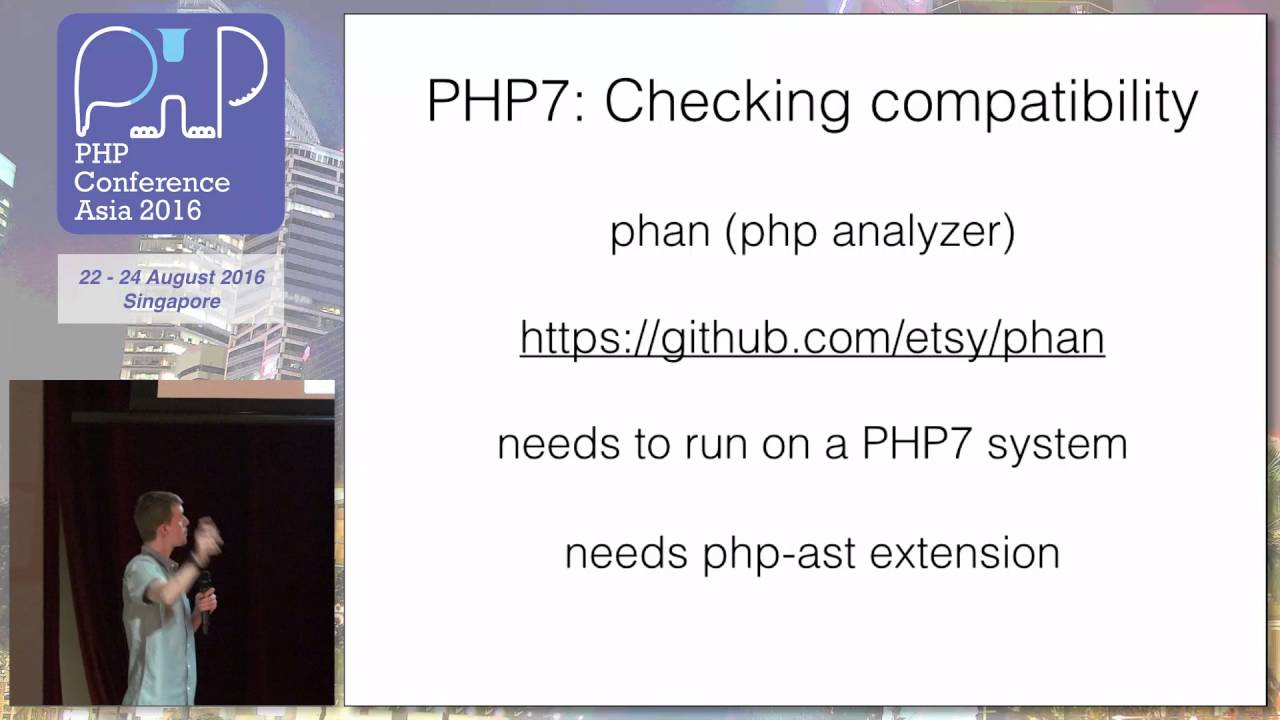 Stepping into the future: Migrating & Deploying PHP7 - PHPConf.Asia 2016