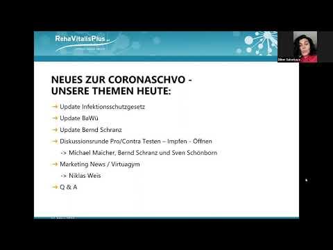 RVP LIVE-KONFERENZ-Updates CoronaSchVO 21.04.2021