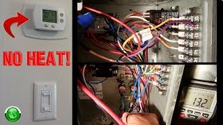 Troubleshooting & Repairing ELECTRIC CENTRAL HEAT(Furnace) ~ Step By Step