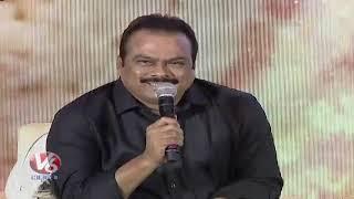 DVV Danayya Speech At RRR Press Meet | Rajamouli | Jr NTR | Ram Charan | V6 News