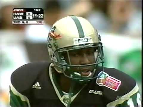 2004 Sheraton Hawaii Bowl - Hawaii Vs. UAB