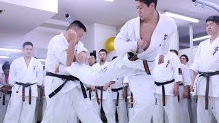 【新極真会】2016年WKO昇段審査会 渡辺大士 昇段組手   SHINKYOKUSHINKAI KARATE