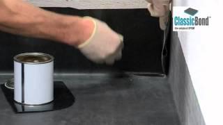 ClassicBond ® EPDM Internal Corner Installation
