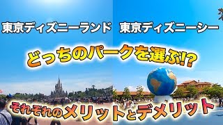 東京ディズニーランドと東京ディズニーシーのそれぞれのメリットとデメ...