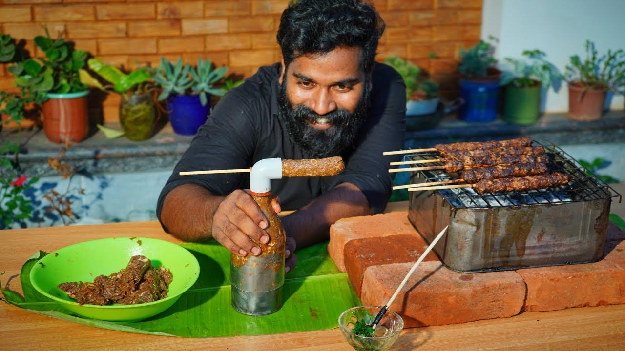 Cabab Making Trick | കബാബ് ഉണ്ടാകുന്ന മെഷീൻ ഉണ്ടാക്കിയാലോ | M4 TECH |