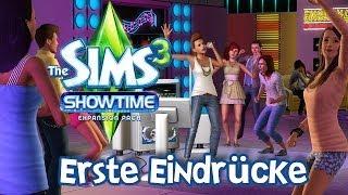Die Sims 3 Showtime Erweiterungspack - Erste Eindrücke [Part 1]