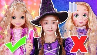 基尼是說謊精!!?樂佩公主兒童化妝品玩具 公主遊戲-基尼