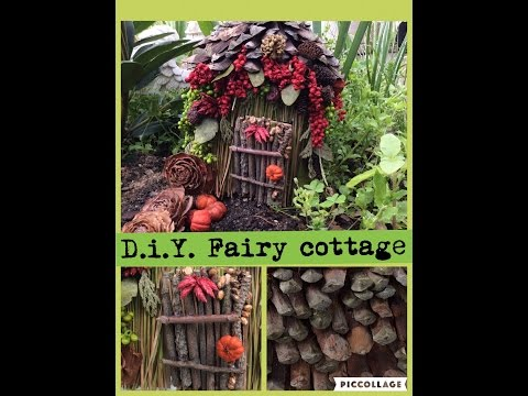 Cost free d.i.y. fairy cottage How to Make a Fairy Home Free! Nature