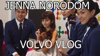 Jenna Norodom and Robin VLog! Performing at Volvo Headquarters in Cambodia!