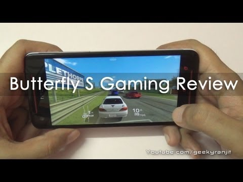 HTC Butterfly S Gaming Review & Benchmarks