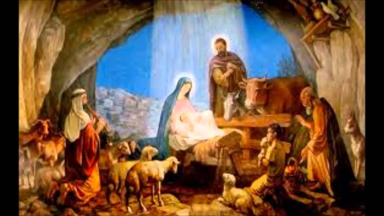 Image result for nativity scene according to luke
