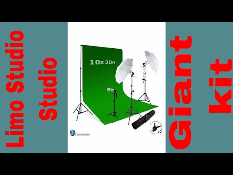 limostudio-studio-video-photo-green-screen-background-kit-3-point-studio-umbrella-lighting-kit