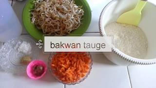 Bakwan tauge simpel