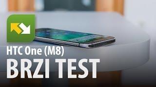 HTC One (M8) : brzi test