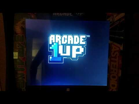 Arcade 1Up How To Put It Into Test Mode - Atari Deluxe Edition Cabinet