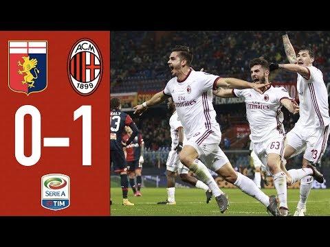 Highlights Genoa 0-1 AC Milan - Serie A 11/3/2018