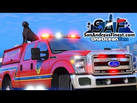 SA'F #143 - Fire Dog Gets A Name!   GTA V RP