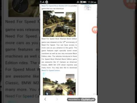Download PC Games Setup From Mobile (nfs)