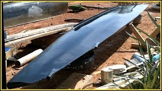 Ultralight Solar Speed Boat 009 Blackening and Bearings
