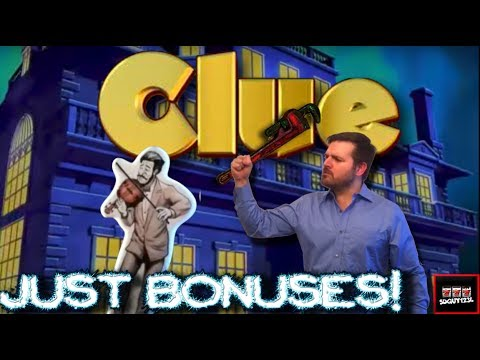 SDGuy Does Some Damage with the Wrench and His Lead Pipe. CLUE SLOT MACHINE