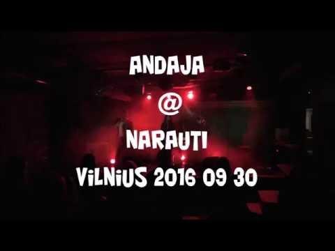 ANDAJA @ NARAUTI Vilnius 2016 09 30