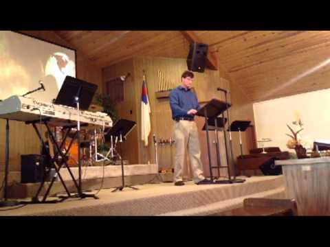 How to Deal with Loneliness by Andrew Stauffer, Alva Wesleyan Church