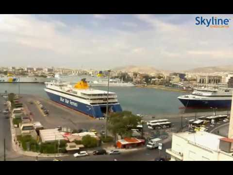 Live webcam Piraeus, Greece - Time Lapse
