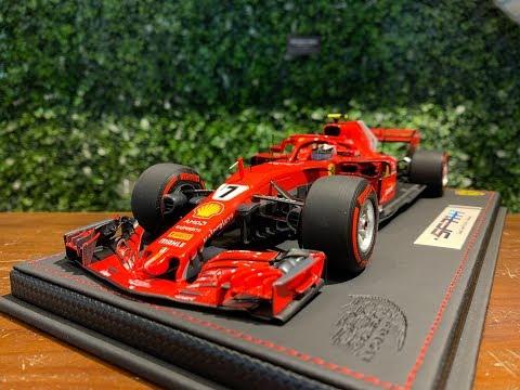 1/18 BBR Ferrari SF71H Canada GP 2018 Kimi Raikkonen BBR181807CANST
