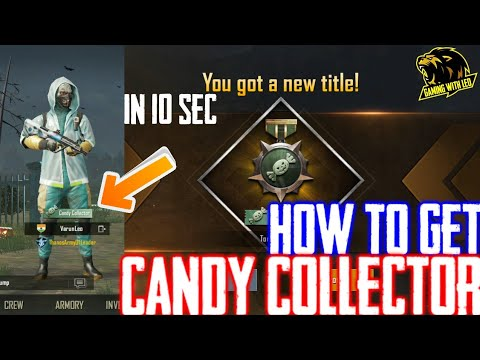 How To Get TITLE 'CANDY COLLECTOR' | 3 New Titles