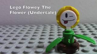 Lego Custom Minifigs: Flowey The Flower (Undertale)